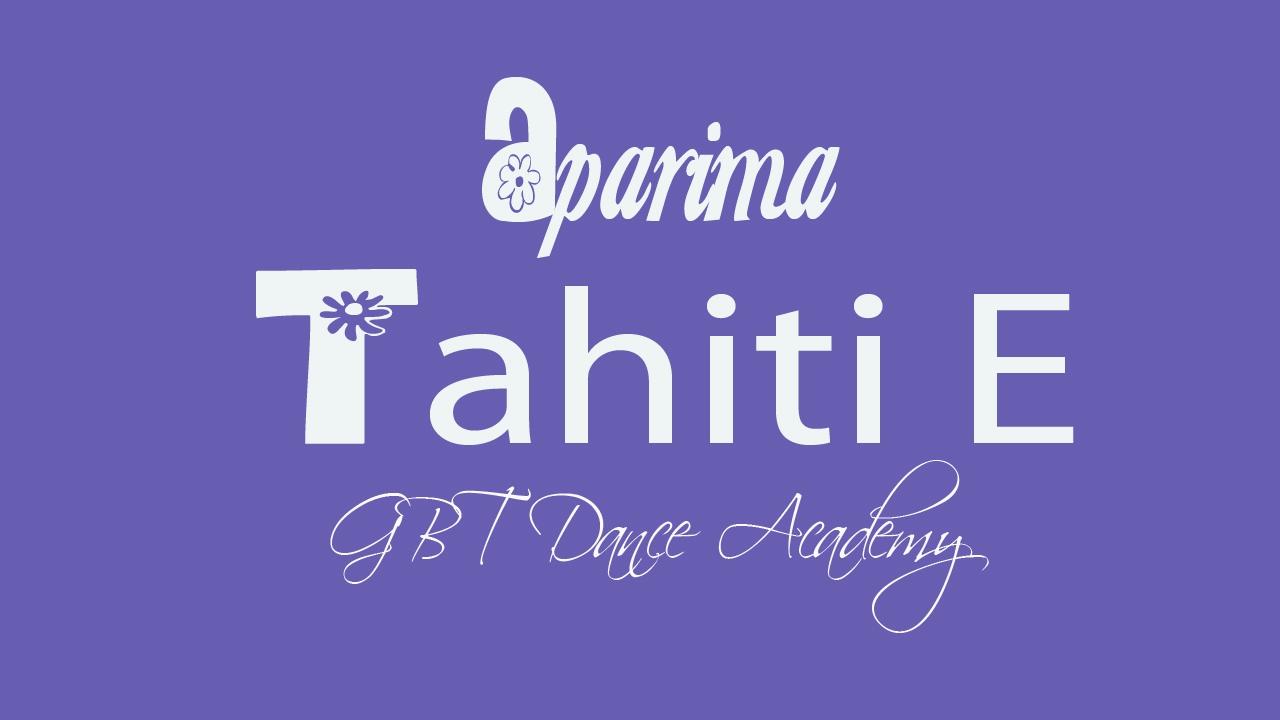 Aparima Tahiti E